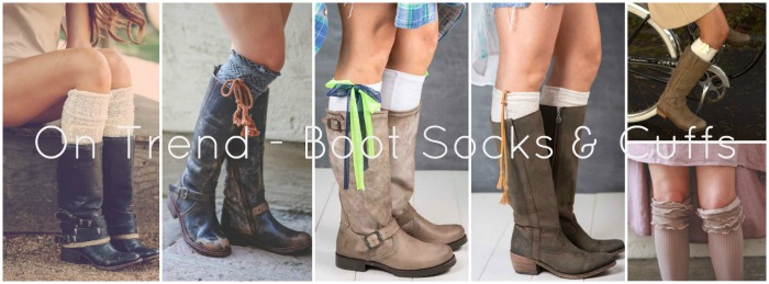 Boot Cuffs and Socks