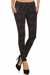 Treggings - Cheetah Print