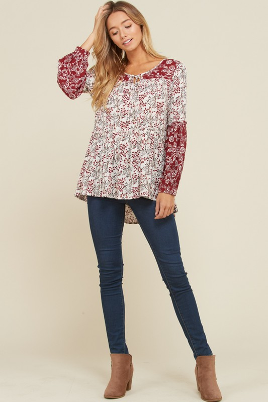 Wildberry Mix & Match Top - Red