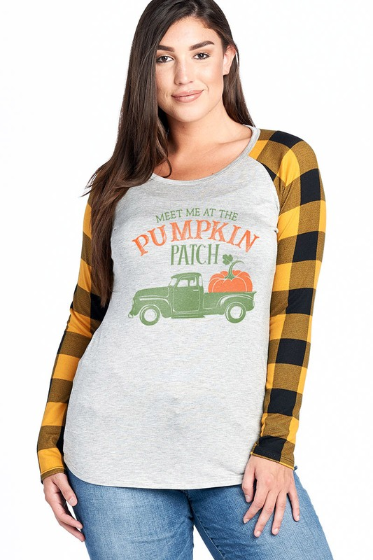 Meet Me At The Pumpkin Patch - Yellow