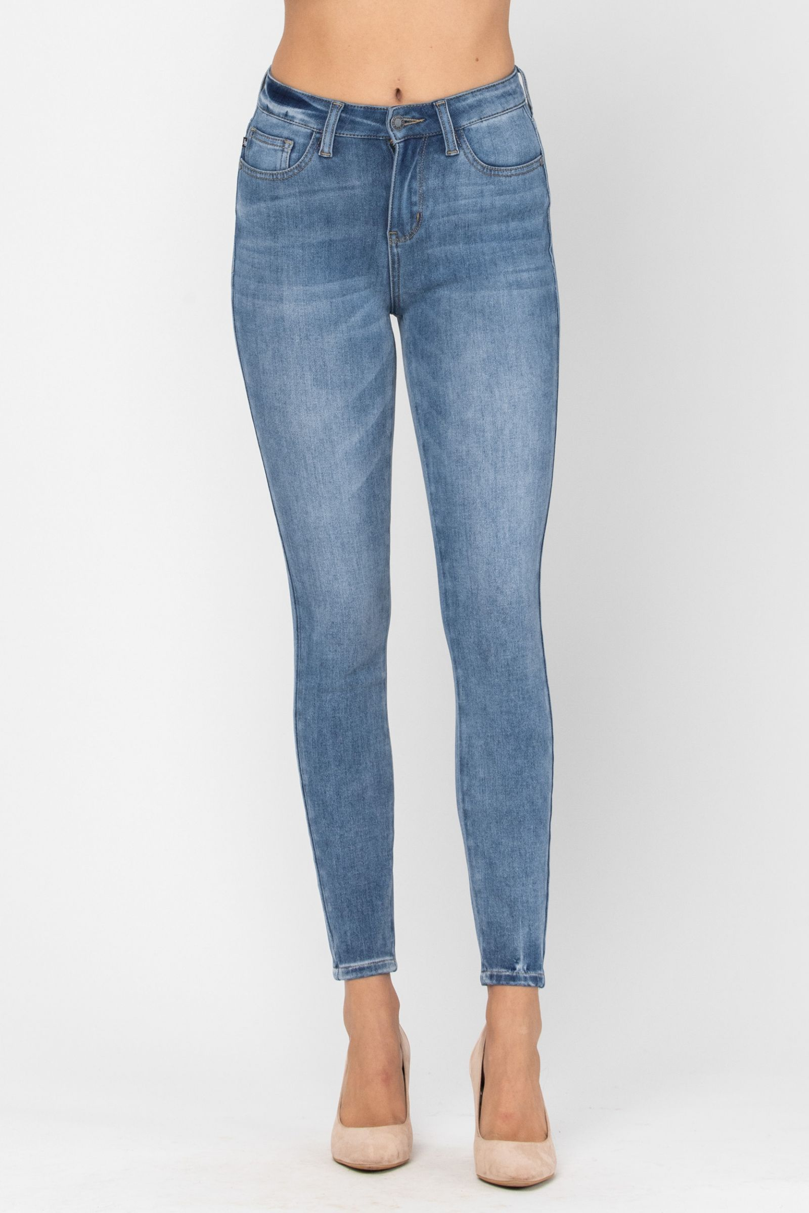 Judy Blue Thermal THERMAdenim Skinny Jeans