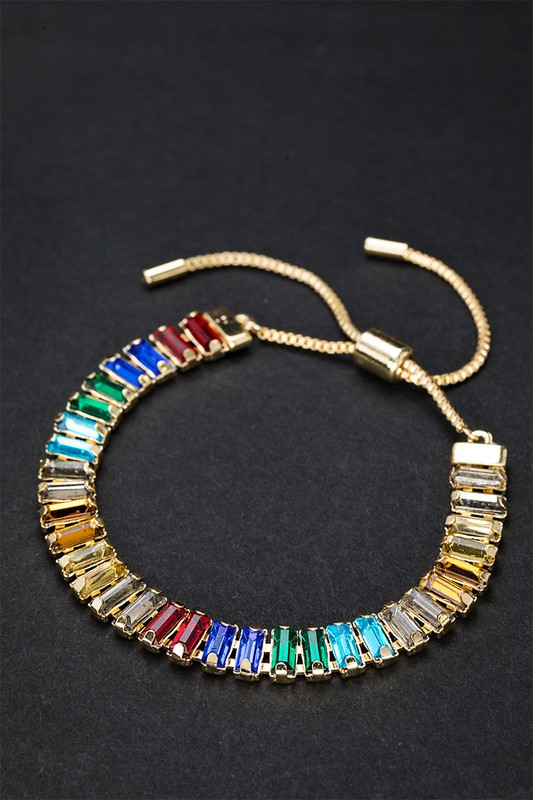 Multi Color Sparkling Bracelet