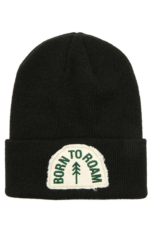 Born To Roam CC Patch Unisex Beanie