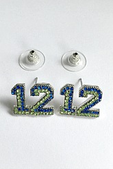 12 Post Earrings