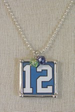 12th Man Reversible Pendant