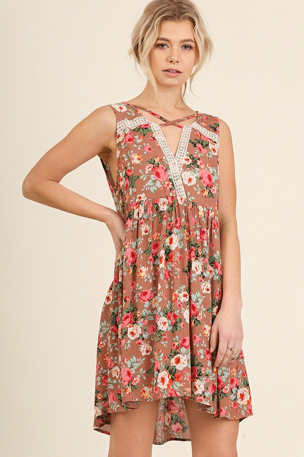 All Yours Floral Dress