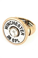 38 SPL Stretch Ring - Gold