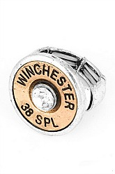 38 SPL Stretch Ring - Silver