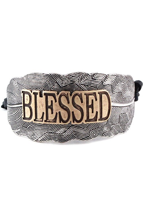 Blessed Country Cuff Bracelet