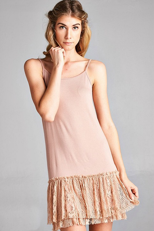 Steal The Scene Lace Extender - Apricot