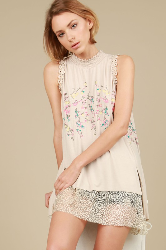 Lost In Paradise Mock Top