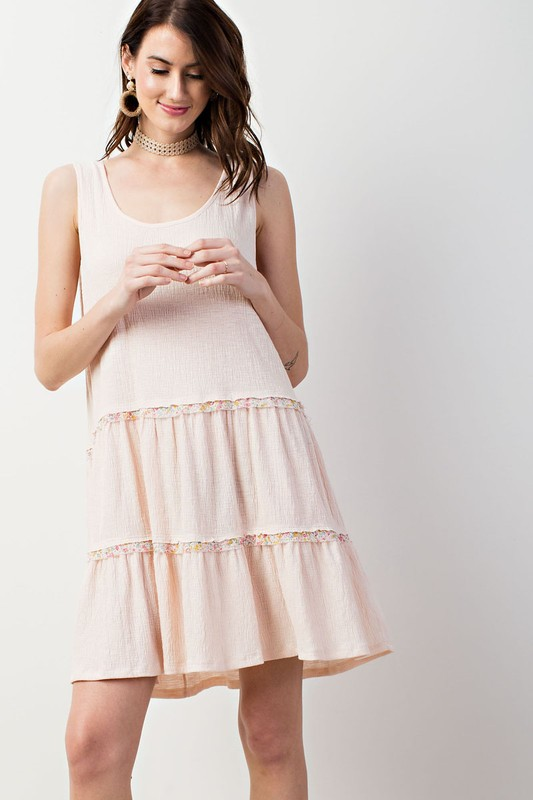 Hold On Loosely Babydoll Dress