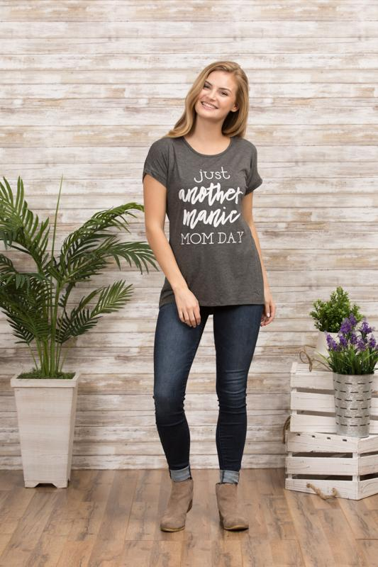 Just Another Manic Mom Day Tee