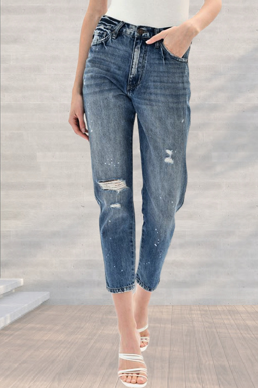 KanCan Ultra High Rise Mom Jeans