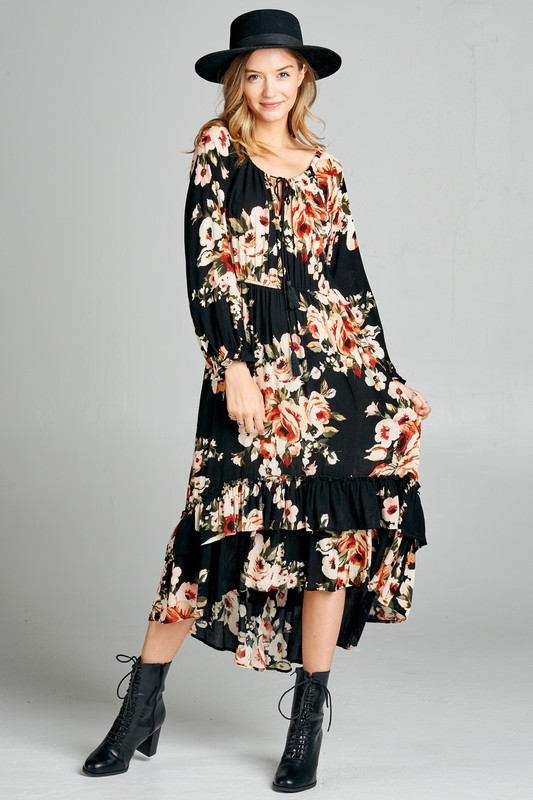 Forever Yours Floral Dress