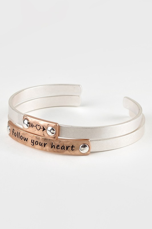 Follow Your Heart Bracelet