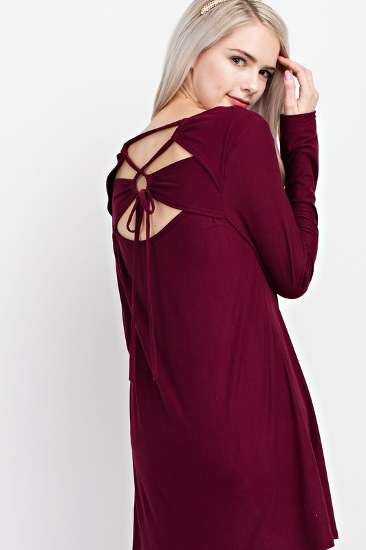 Looking Back Tunic Top