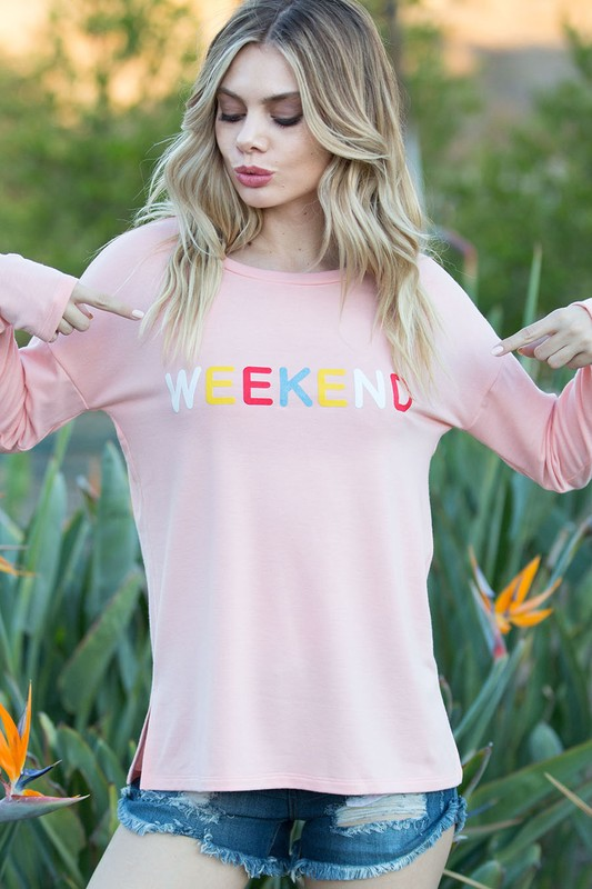 Weekend Vibes Sweatshirt