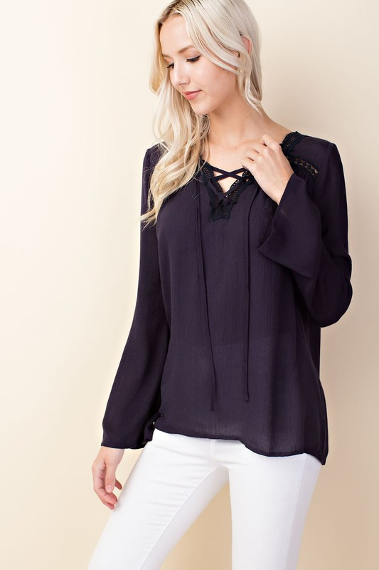 Midnight Dream Boho Top