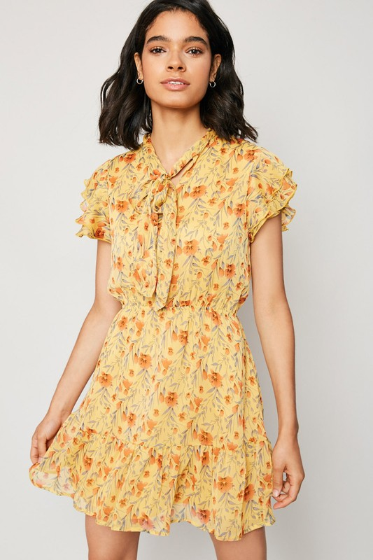 Oh Honey Honey Floral Dress