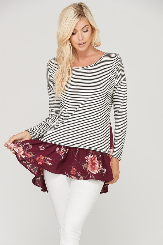 Jenny Jenny Striped Top