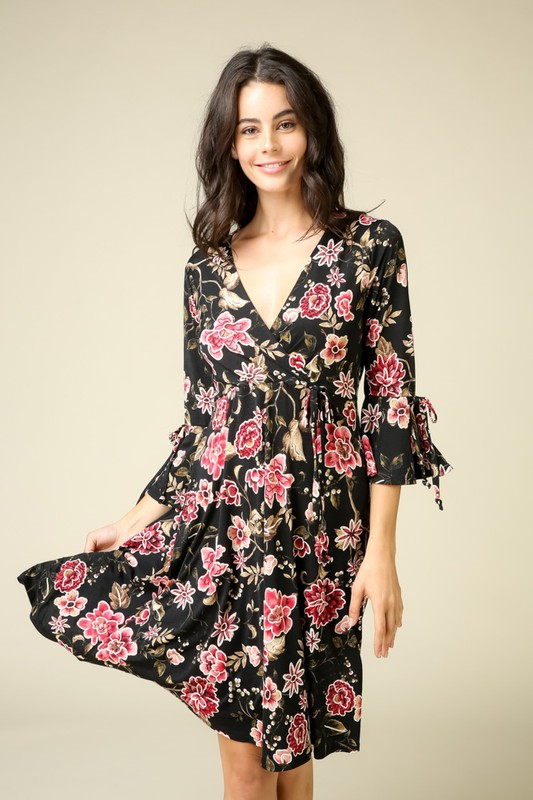 Loving You Wrap Dress