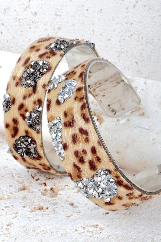 Leopard Cuff Bracelet - More Colors