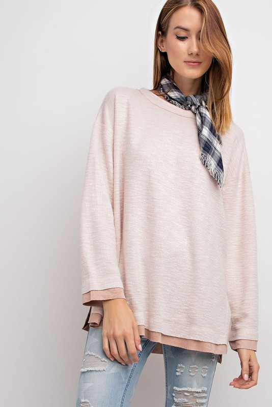 Blushing Babe Tunic