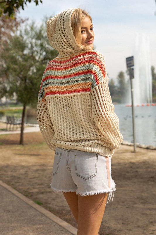 A Walk In The Park Hoodie - Natural