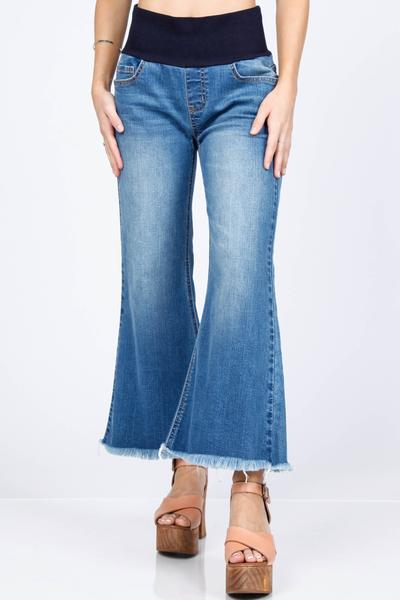 Groovy Flare High Waist Jeans by M. Rena