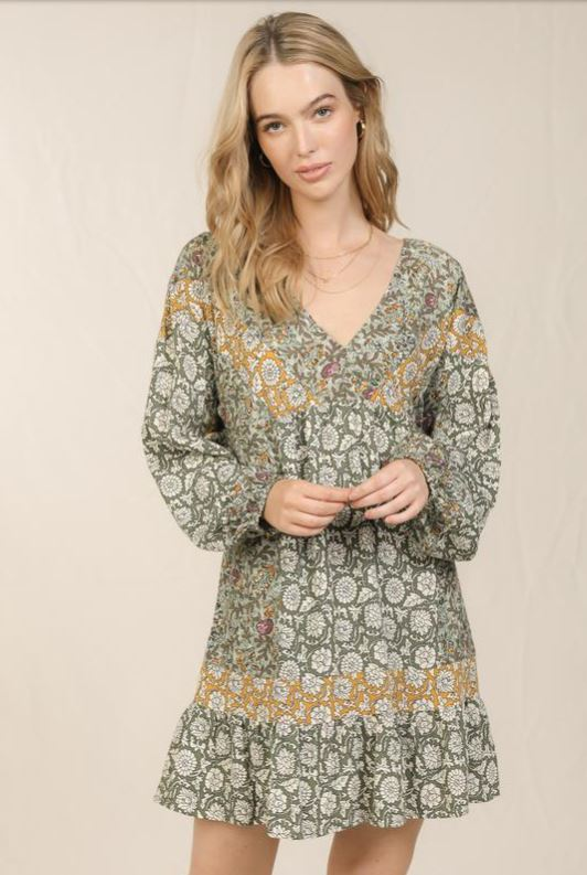 Just As You Are Boho Inspired Tunic Dress