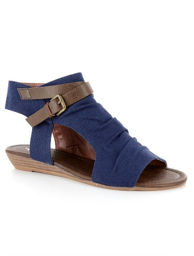 Corkys Dandee Denim Sandals