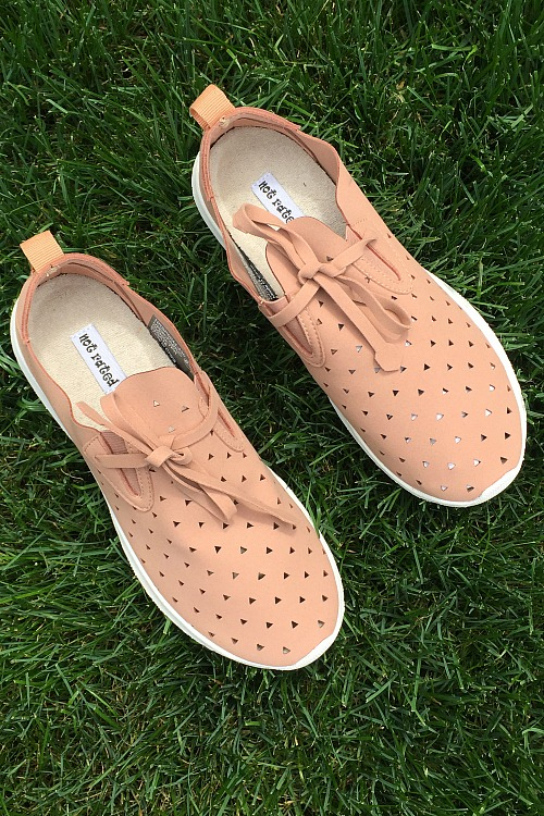 Not Rated Marlum Sneaker - Nude