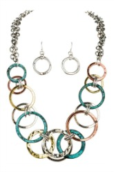 Layered Mixed Metal Necklace