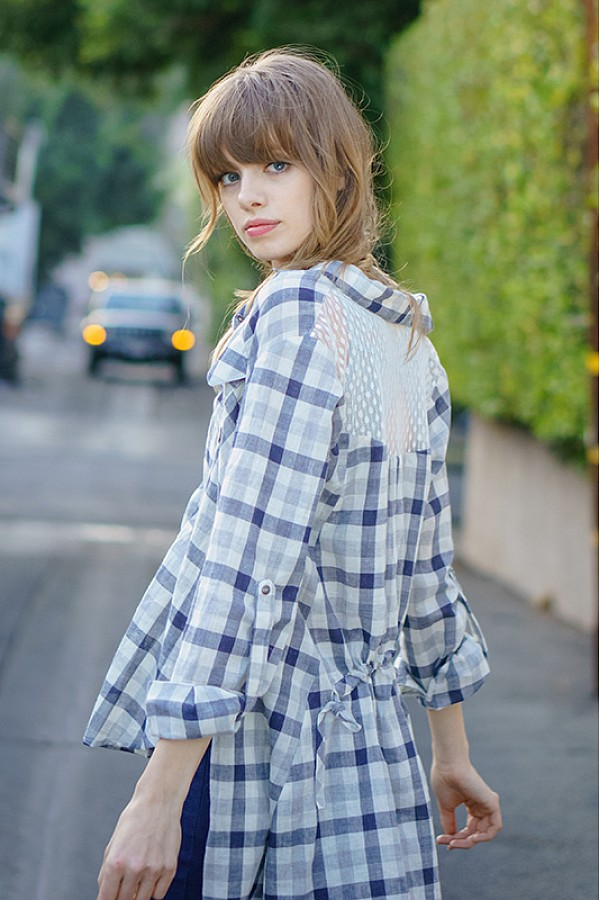 In The Park Plaid Shirt