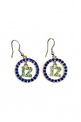 12 Circle Earrings