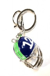 12 Helmet Key Chain