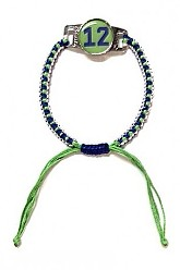 12 Knotted Seahawks Bracelet