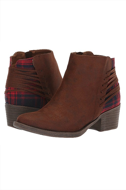 Volatile™ Accolade Plaid Bootie - Brown