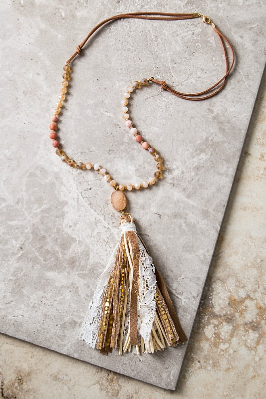 Best Is Yet To Come Tassel Necklace
