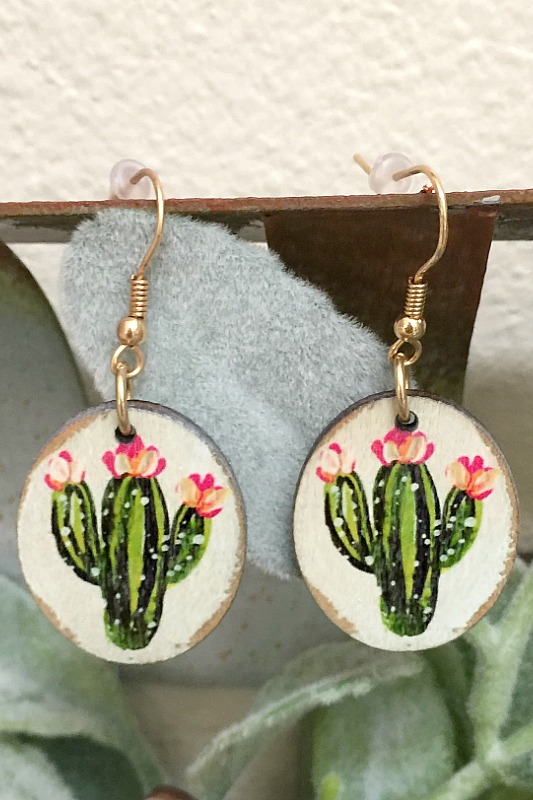 Cactus Country Earrings