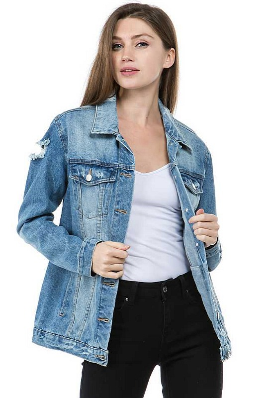 Sea Wash Denim Jacket