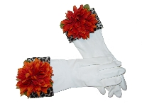 Diva Dish Gloves� Mums The Word!-diva dish gloves, cheetah, mum, white gloves, latex free
