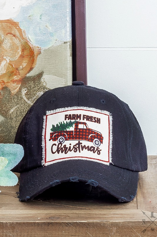 Farm Fresh Christmas Hat