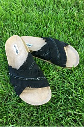 Not Rated Fesquee Sandal - Black