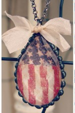 Chandelier Pendant - Old Glory