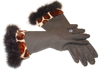 Diva Dish Gloves™ Wild Side! Giraffe