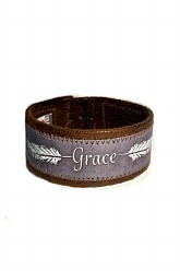 Vegan Leather Cuff - Grace