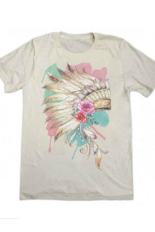 Vintage Headdress Tee