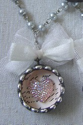 My Heart Sparkles With Love Pendant Necklace